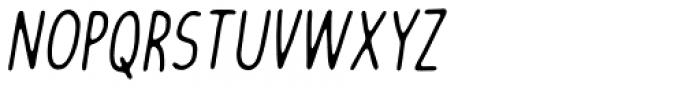 Friendly Reminder Italic Font UPPERCASE