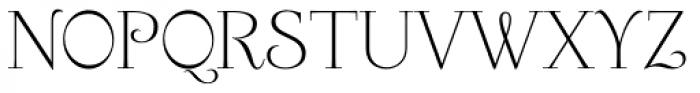 Friendly Roman Font UPPERCASE