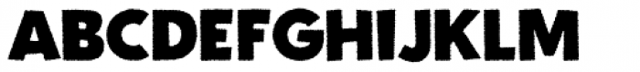 Fright Night Rough Font UPPERCASE