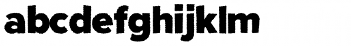 Fright Night Rough Font LOWERCASE