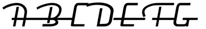 Frigidaire Mini SC D Regular Font UPPERCASE