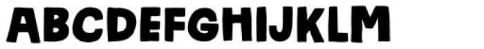 Frihed Regular Font LOWERCASE