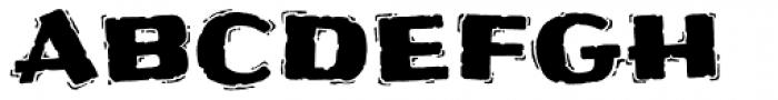 Frijoles Hot Font UPPERCASE