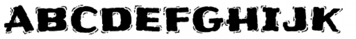 Frijoles Hot Font LOWERCASE