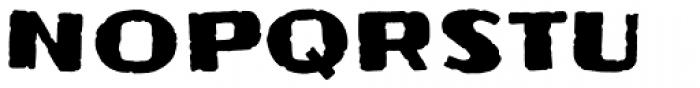 Frijoles Mild Font UPPERCASE