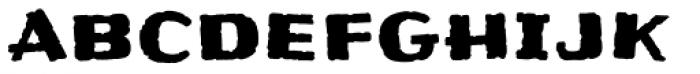 Frijoles Mild Font LOWERCASE