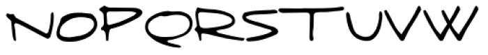 Fringe Font UPPERCASE