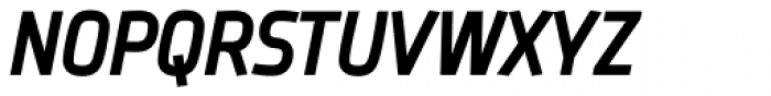 Frio Condensed Bold Italic Font UPPERCASE