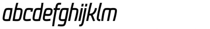 Frio Condensed Italic Font LOWERCASE