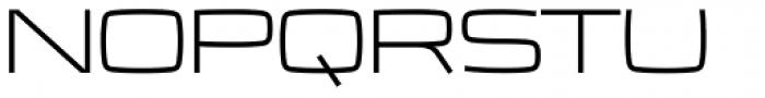 Frio Extended Light Font UPPERCASE