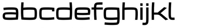 Frio Extended Medium Font LOWERCASE