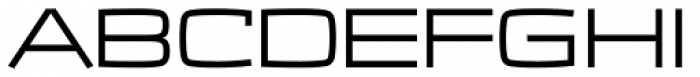 Frio Extended Font UPPERCASE