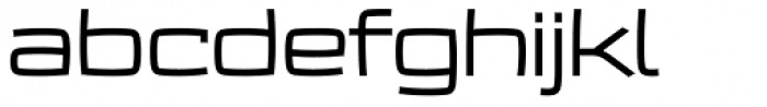 Frio Extended Font LOWERCASE