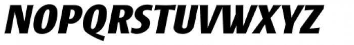 Frisans Std Bold Italic Font UPPERCASE