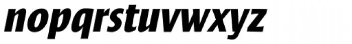 Frisans Std Bold Italic Font LOWERCASE