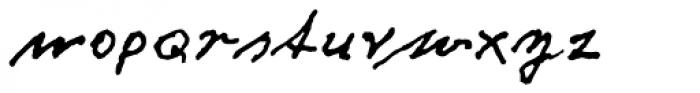 Fritz Dittert EF Font LOWERCASE