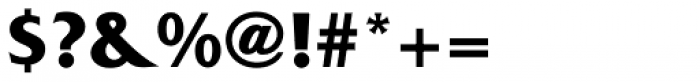 Friz Quadrata Bold Font OTHER CHARS