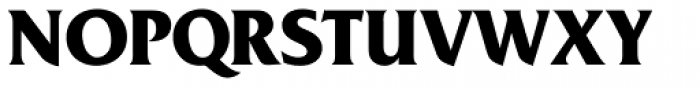 Friz Quadrata Bold Font UPPERCASE