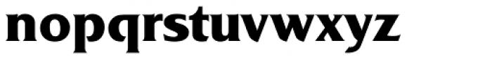 Friz Quadrata Bold Font LOWERCASE