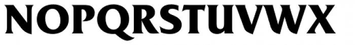 Friz Quadrata Pro Bold Font UPPERCASE
