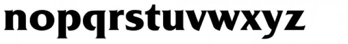 Friz Quadrata Pro Bold Font LOWERCASE