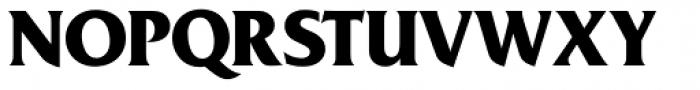 Friz Quadrata SH Bold Font UPPERCASE