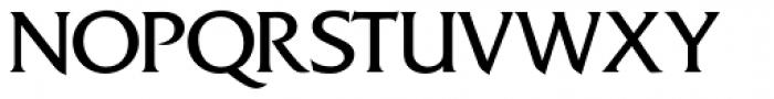 Friz Quadrata SH Regular Font UPPERCASE
