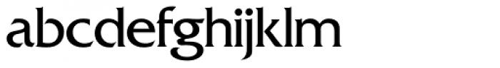 Friz Quadrata SH Regular Font LOWERCASE