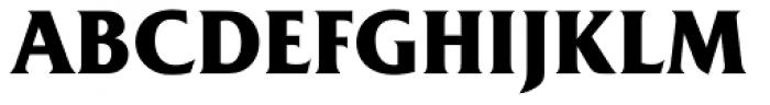 Friz Quadrata Std Bold Font UPPERCASE