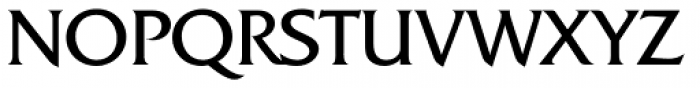 Friz Quadrata Font UPPERCASE