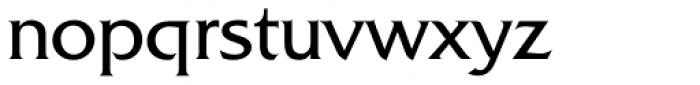 Friz Quadrata Font LOWERCASE