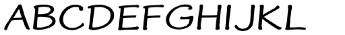 Frogster Bold Expand Font UPPERCASE