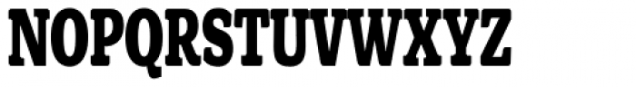 Front Page Condensed Font UPPERCASE