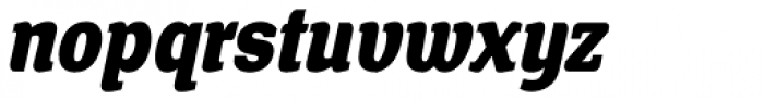 Front Page Italic Font LOWERCASE