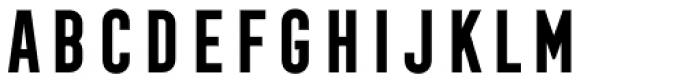 Frontage Condensed Bold Font UPPERCASE