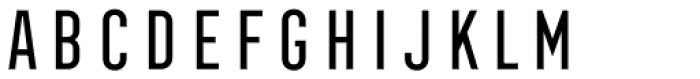 Frontage Condensed Regular Font LOWERCASE