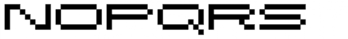 Fronteer One Font LOWERCASE