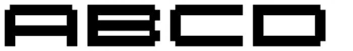 Fronteer Two Font LOWERCASE