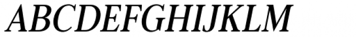 Frontis Condensed Medium Italic Font UPPERCASE