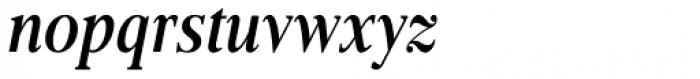 Frontis Condensed Medium Italic Font LOWERCASE
