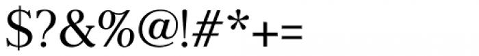 Frontis Regular Font OTHER CHARS