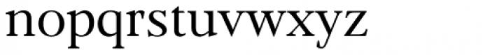 Frontis Regular Font LOWERCASE