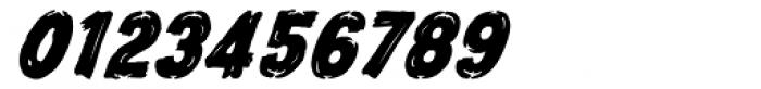 Frontline Bold Oblique Font OTHER CHARS