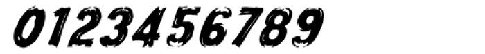 Frontline Oblique Font OTHER CHARS