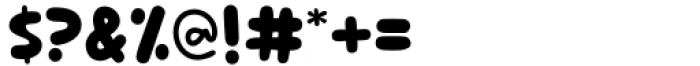 Frozen Tree Regular Font OTHER CHARS