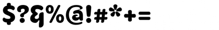 Fruitygreen Pro Black Font OTHER CHARS