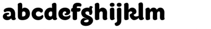 Fruitygreen Pro Black Font LOWERCASE
