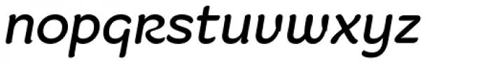 Fruitygreen Pro Italic Font LOWERCASE