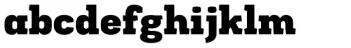 Frusta Black Font LOWERCASE