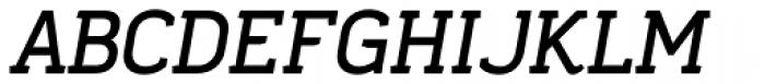 Frusta Bold Italic Font UPPERCASE
